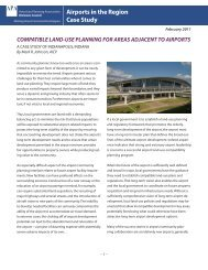 Compatible Land Use Planning for Areas Adjacent to Airports