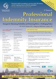 Professional Indemnity Insurance - C5