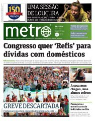 Congresso quer 'Refis' para dívidas com domésticos - Metro