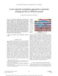 A new spectral correlation approach to spectrum ... - M. Javad Omidi
