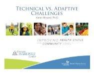 Technical vs. Adaptive Challenges - Blsmeetings.net
