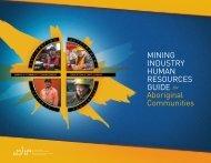 MIHR Guide for Aboriginal Communities