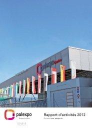 Rapport d'activités 2012 à PALEXPO