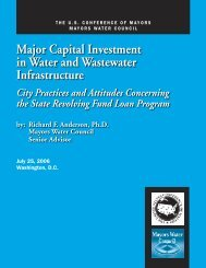 City Practices and Attitudes Concerning the State Revolving Fund ...