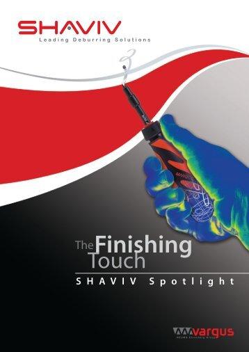Shaviv Spotlight 2013 - English - Vargus Tooling (UK)