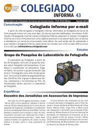 INFORMA 43 - Faculdade de Comunicação e Artes - PUC Minas