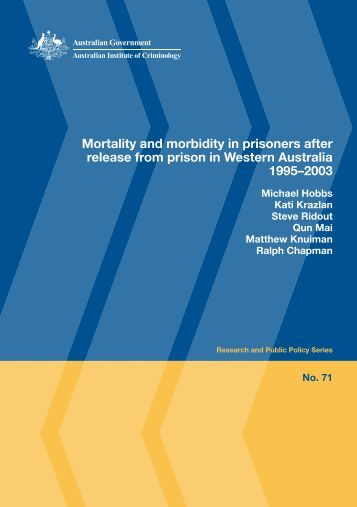 Mortality and morbidity in prisoners after release from prison in ...