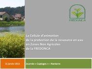 L'action en zone non agricole - Agence de l'Eau Seine Normandie