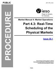 Part 4.3: Real-Time Scheduling of the Physical Markets - CiteSeerX