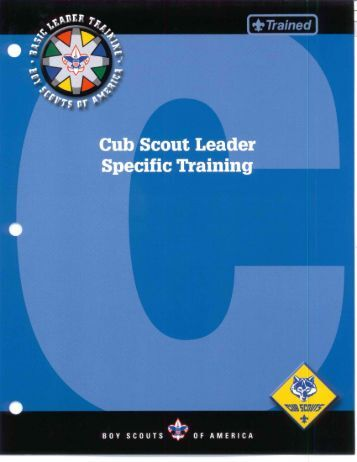 Specific Training - Cub Source
