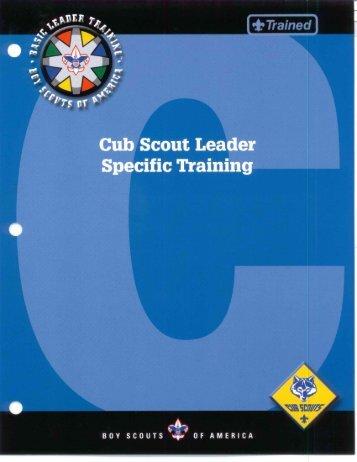 Specific Training - Cub Source