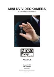 minitv pocket43 mini dv videokamera - WebHill.fi -Verkkokauppa
