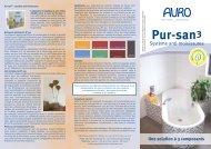 Pur-san3 Système anti-moisissures - Auro