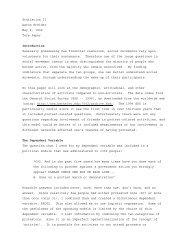 Statistics II Aaron Kreider May 2, 1999 Term ... - Campus Activism