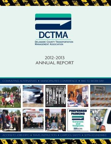2012-2013 ANNUAL REPORT - Delaware County Transportation ...