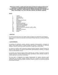 protocolo para la implantación obligatoria de buenas ... - Senasica