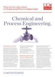 Chemical and Process Engineering. - University of Canterbury