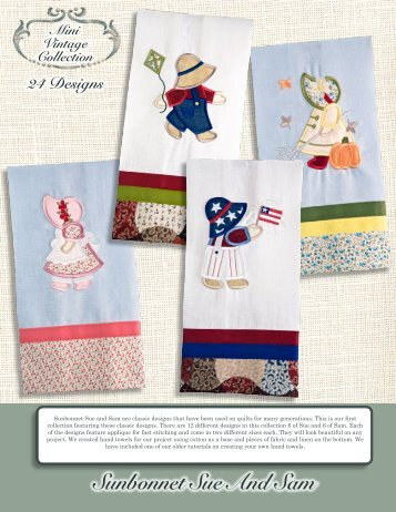 Sunbonnet Sue And Sam