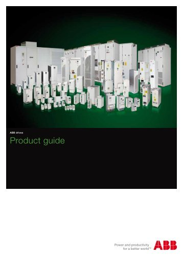 ABB drives | Product guide - Gerrie Electric