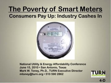 Toney, Mark - National Energy and Utility Affordability Conference