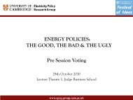 Download - Electricity Policy Research Group - University of ...