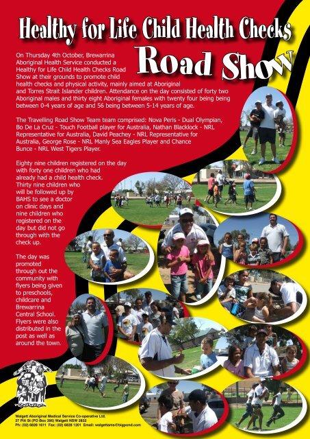 Brewarrina Travelling Road Show - WAMS