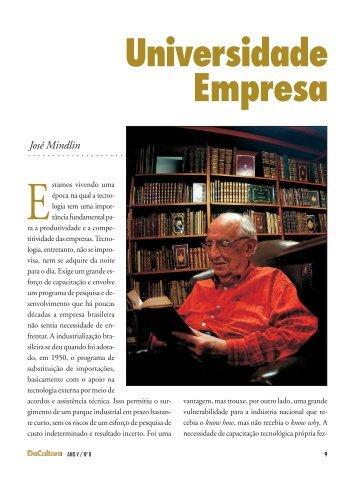 artigos - Universidade - Empresa - FunCEB