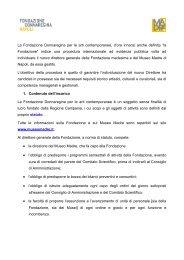 Fondazione Donnaregina - Tafter