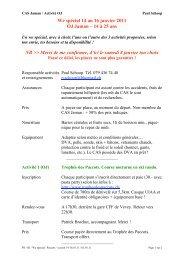 We spécial 14 au 16 janvier 2011 OJ Jaman – 14 à 25 ans NB ...
