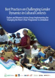 Best Practices on Challenging Gender Dynamics in ... - SAfAIDS