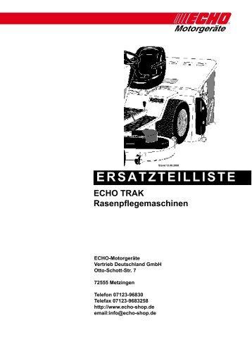 Ersatzteilliste Rasenkehrmaschinen - Gartentechnik-Bremen