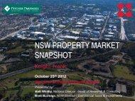 NSW PROPERTY MARKET SNAPSHOT - Pitcher Partners