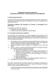 LINEAMIENTOS PARTICULARES DEL POSGRADO EN CIENCIAS ...