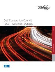 Gulf Cooperation Council (GCC) Investment Outlook