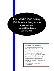 What is formative and summative assessment? - Le Jardin Academy