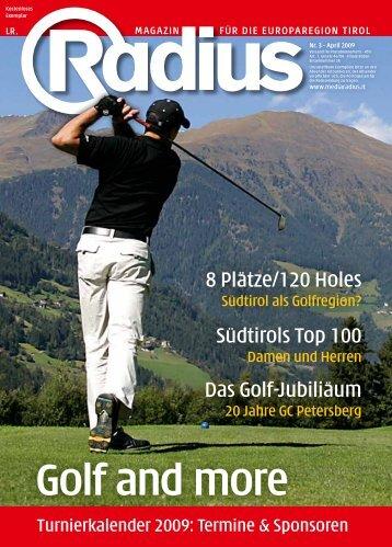 Golf and more - Radius
