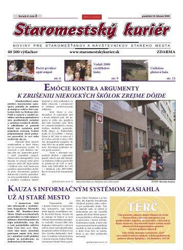 2. 2008 - Bratislavský kuriér