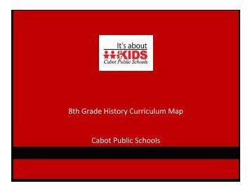 Eighth Grade - Cabot Public Schools