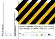 atshtal -‐ seminário da associação dos técnicos de segurança e ...