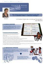 Das Thema Conseils & Astuces s &