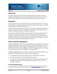 QT 23: Compliance Aggregation - IESO