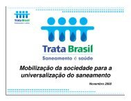 Mobilização da sociedade para a universalização do ... - Fecomercio