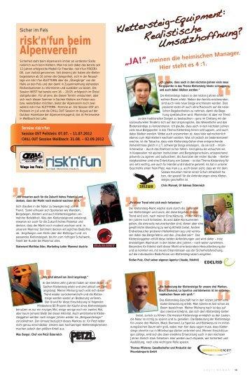 s_insider_02_2012 Teil 2 - Freizeitalpin