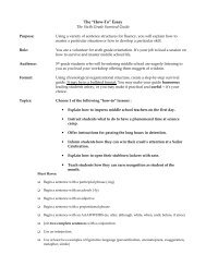 How To Survival Guide Assignment - Mona Shores Blogs