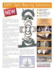 SAFC Split Bearing Solutions - Cooper Bearings