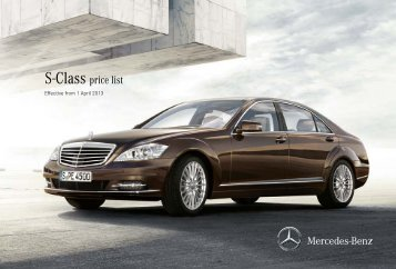 80 free magazines from mercedes benz media co uk for Mercedes benz classes list