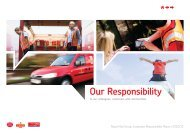 Corporate Responsibility Report - Royal Mail Group