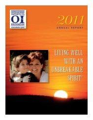 2011 - Osteogenesis Imperfecta Foundation