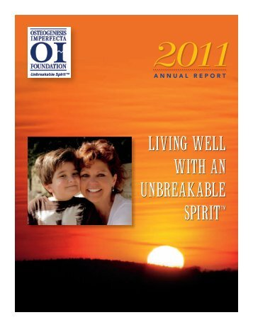 2011 - Osteogenesis Imperfecta Foundation