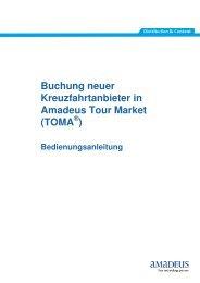 Buchung neuer Kreuzfahrtanbieter in Amadeus Tour Market - Royal ...